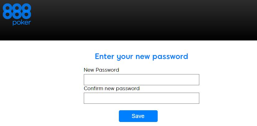 Forgot Password | 888poker Support Center